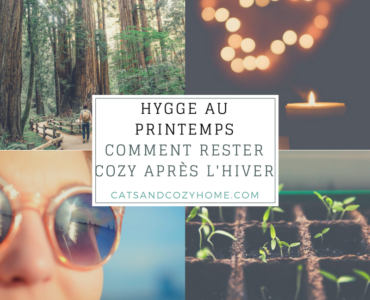 Hygge au printemps – Comment rester cozy après l'hiver