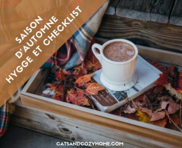 Saison d'automne – Hygge et checklist