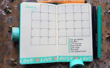 BuJo-Janvier-19-calendrier